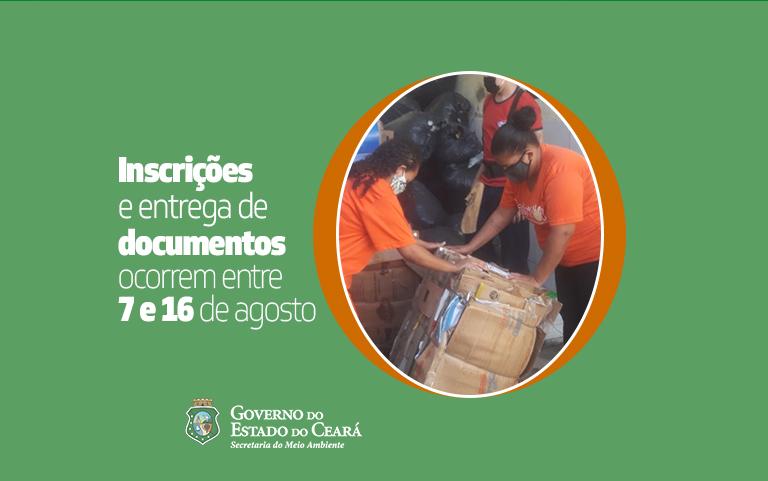 Secretaria do Meio Ambiente publica Edital do Auxílio Catador