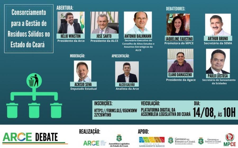 Consorciamento de resíduos sólidos será debatido pela Arce e Pacto pelo Saneamento Básico