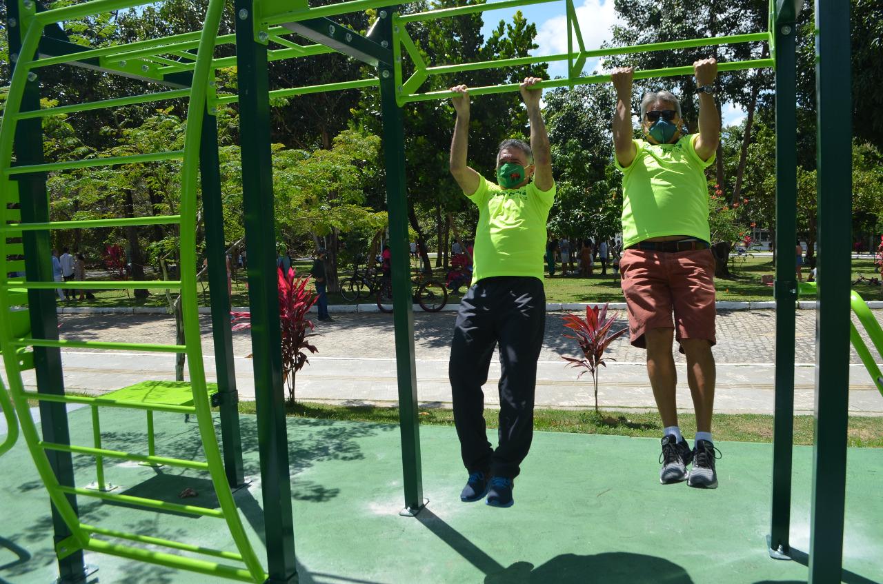 Conectados com a natureza, cearenses celebraram mais #umdianoparque