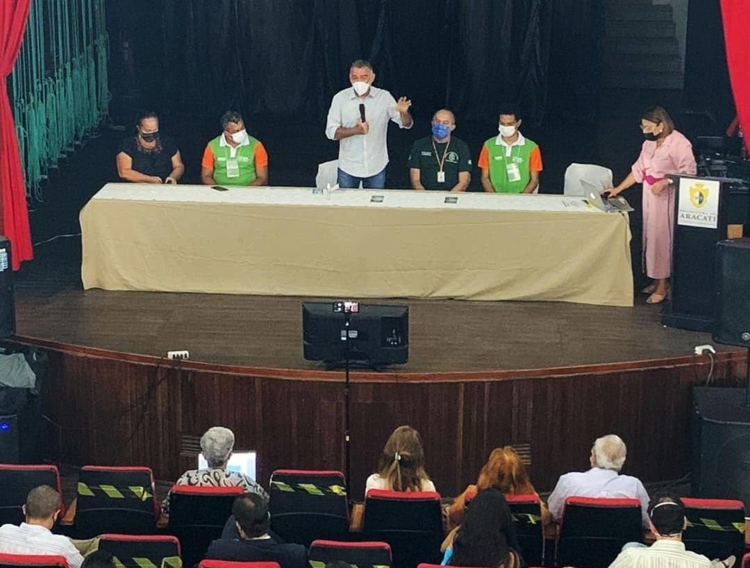 Nesta quinta-feira (21), Aracati sediou encontro do ZEEC para municípios do Litoral Leste do Ceará